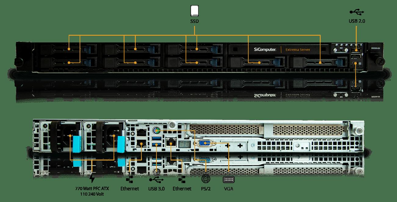 Extrema-Server-Rack-1U-2CPU_Componenti