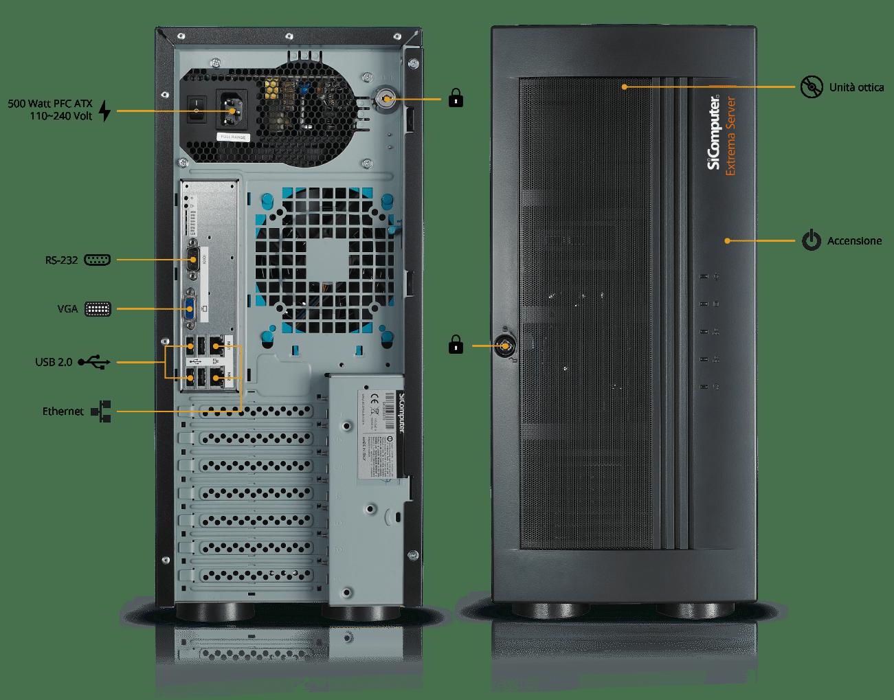 Extrema-Server-S100-200-Componenti