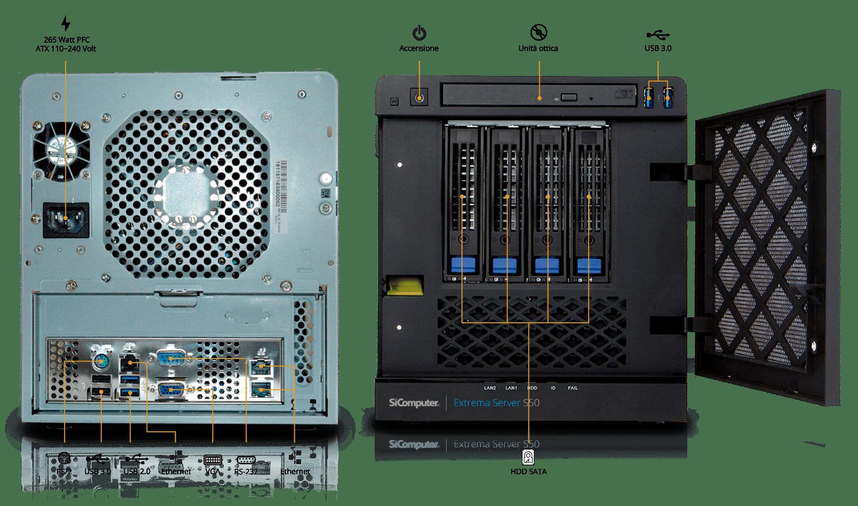 Extrema-Server-S50-Componenti