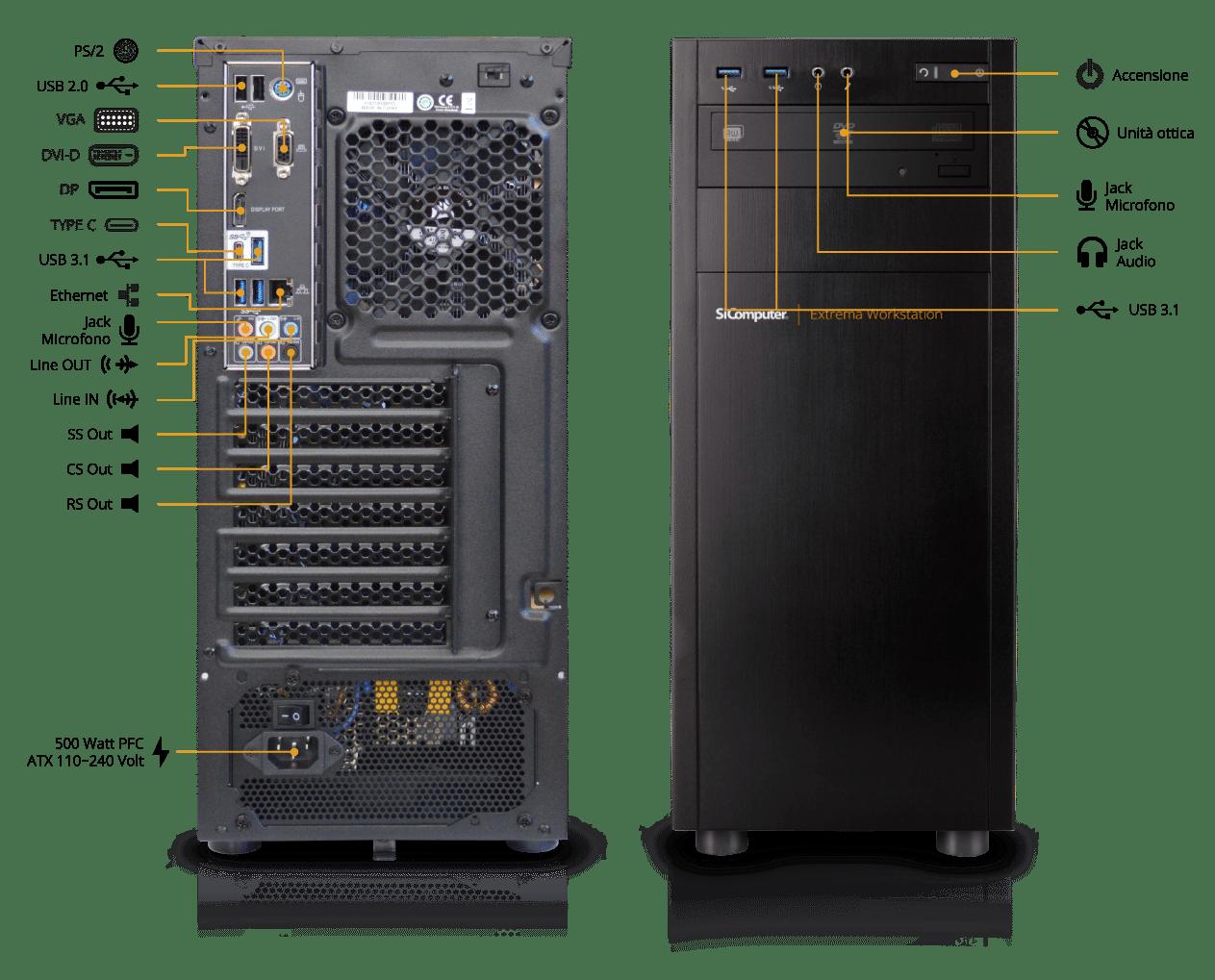 Extrema-Workstation-W200-Componenti