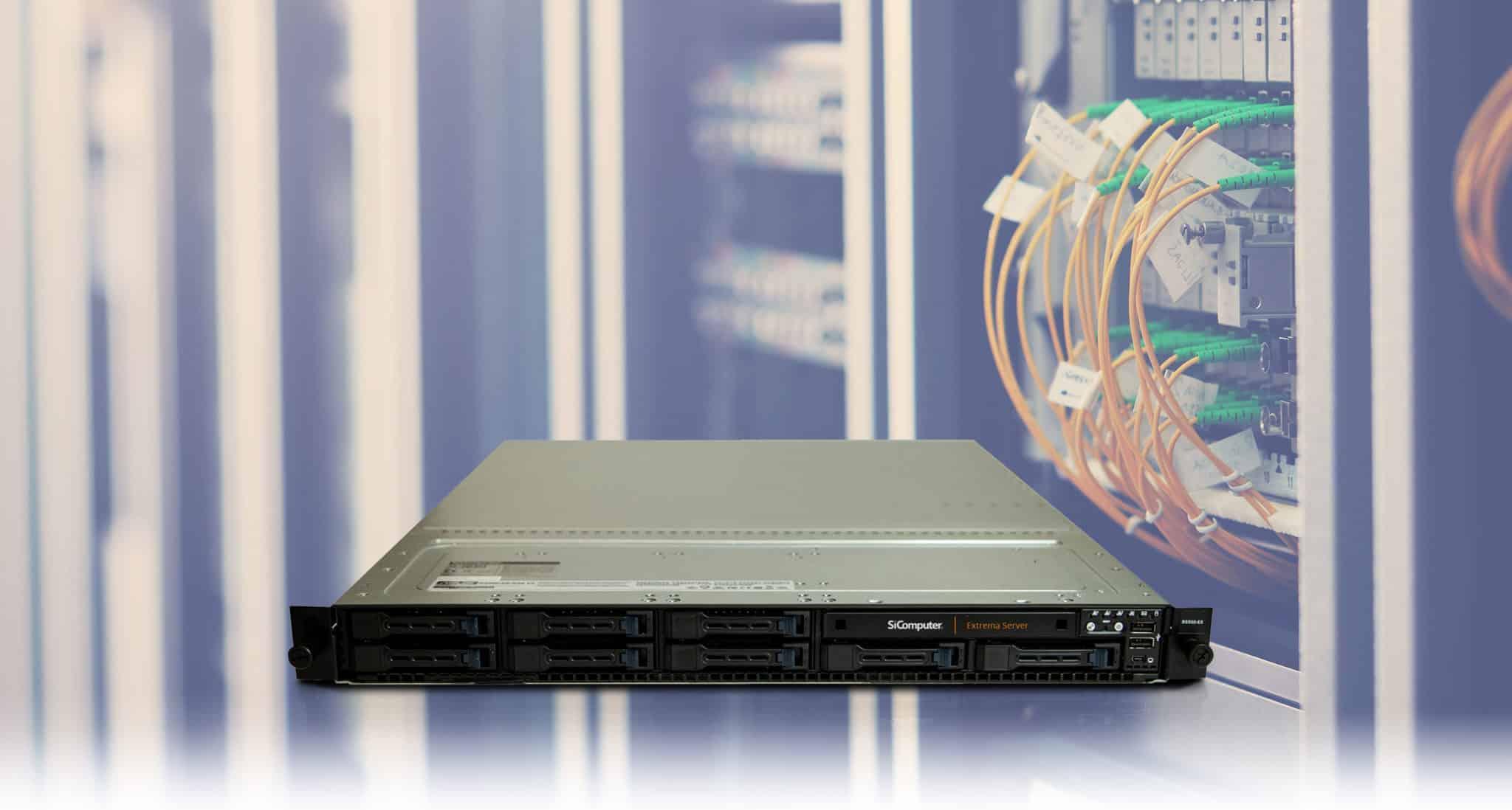Extrema Server Rack 1U 2CPU