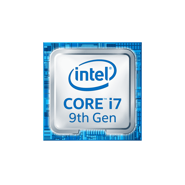 icona intel badge i7-9gen