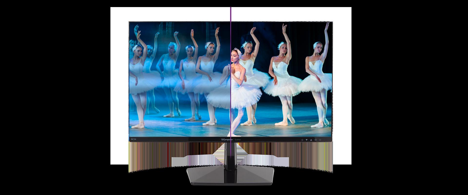 Monitor Scena - Colori vividi e brillanti