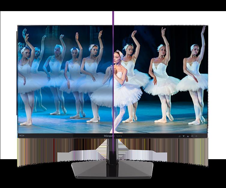 Monitor Scena NC24 - Colori vividi e brillanti
