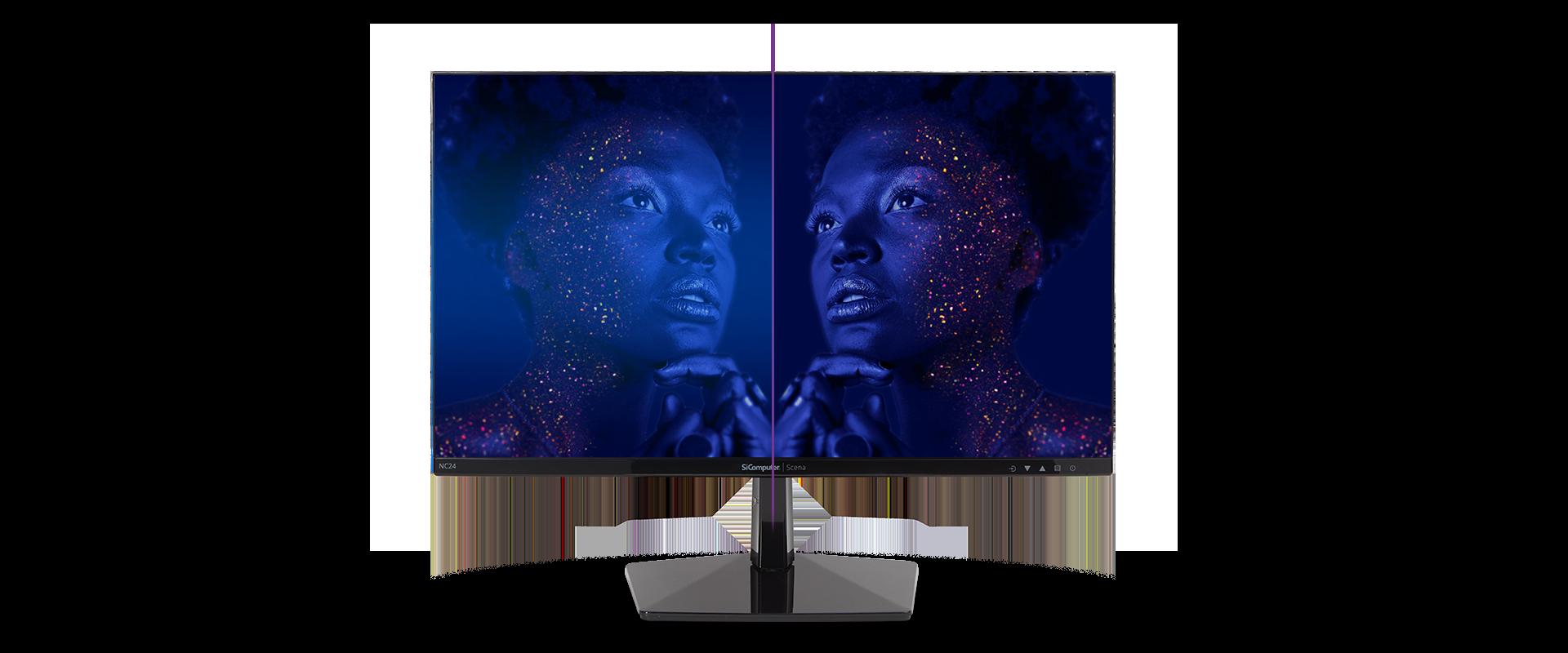 Monitor Scena NC24 - Design elegante e minimale