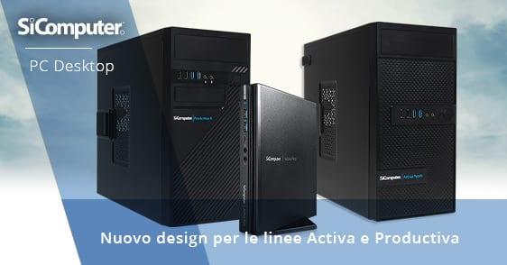 SiComputer - PC desktop Activa e Productiva