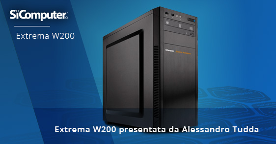 SiComputer- Extrema Workstation W200
